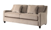 Transitional Nailhead Trim Sofa